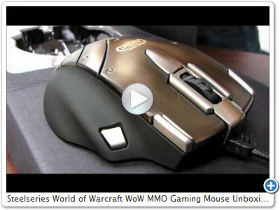 Steelseries World of Warcraft WoW MMO Gaming Mouse Unboxing & First Look Linus Tech Tips